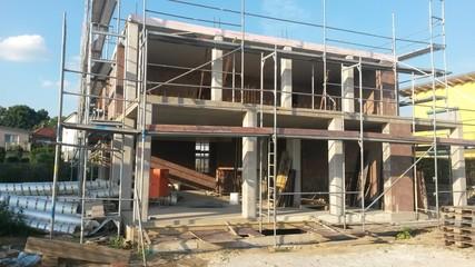 Haus Baustelle