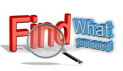 find what you need - len zoom - search