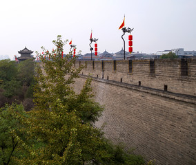 Fortifications of Xian (Sian, Xi'an)