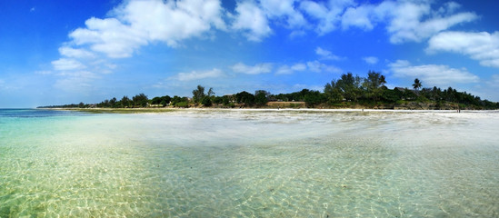 Diani Beach, Indian Ocean