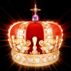 Royal Crown glowing