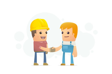 agreement between the builder and mechanic