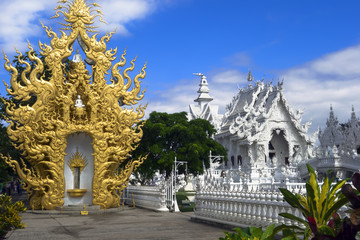 White Temple After The Earthquake.