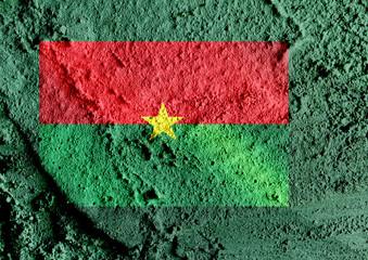 Burkina Faso flag themes idea design