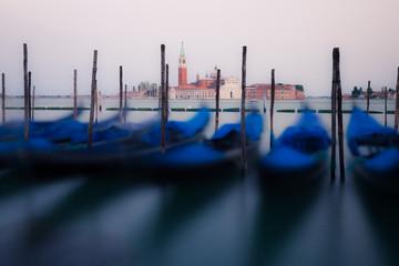 Gondolas on the waves