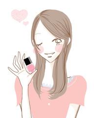 おすすめマニキュア/ピンク