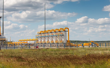 storage of natural gas