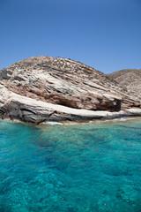 Il mare di Milos Isole Cicladi