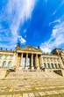canvas print picture - deutsche Bundestag