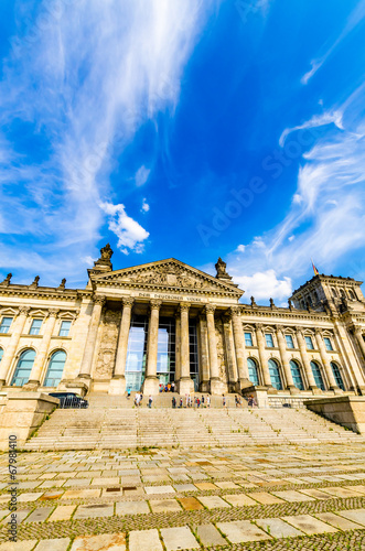 canvas print picture deutsche Bundestag