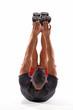 canvas print picture - Hombre atleta deportista estirando músculos,calentamiento.