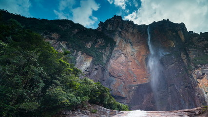 Angel Falls time lapse - highest waterfall in the world