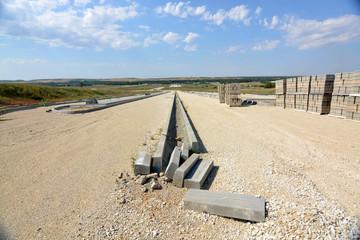 obras paralizadas de un nuevo poligono industrial en burgos