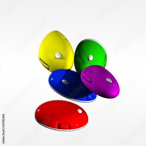 mouse colorati