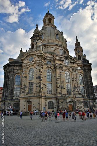 canvas print picture Frauenkirche Dresden