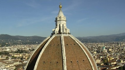 FLORENCE Dome, rapid pan bottom to top