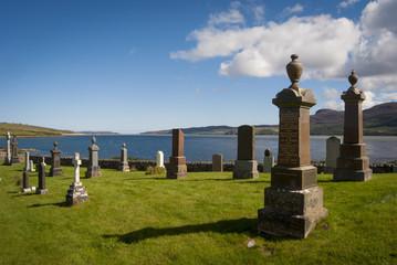 tra Tongue e Lochinver - cimitero