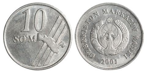 Uzbek som coin