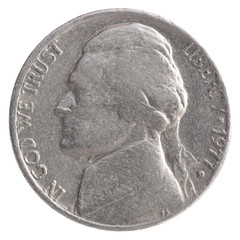 American quarter dollar coin