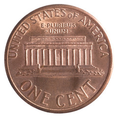 American one cent coin