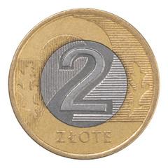 Polish Zloty coin