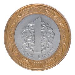 One Turkish Lira