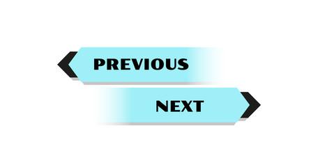 previous and next button