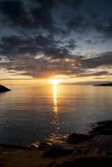 Lochinver - Scozia - Tramonto