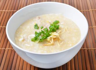 Thai style breakfast with pork