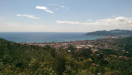 Typical view from Liguria