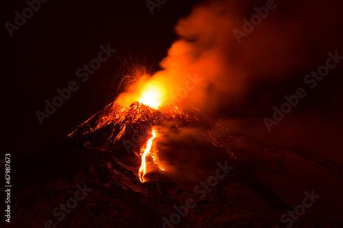 Fotobehang Vulkaan Etna