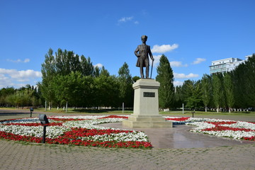 Monument to ATATÜRK in Astana, Kazakhstan