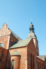 Riga cathedral, Latvia.