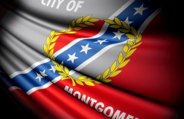 Flag of Montgomery, Alabama (USA)