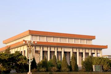 Mausoleum of Mao Zedong, Tiananmen Square, Beijing, China