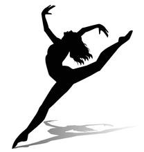 Sylwetka tancerza