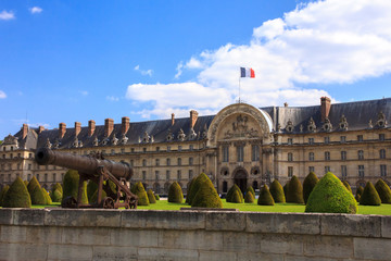 Les Invalides (The National Residence of the Invalids) in Paris,