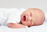 newborn baby crying because of cramps
