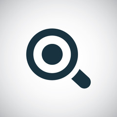 magnifier eye icon