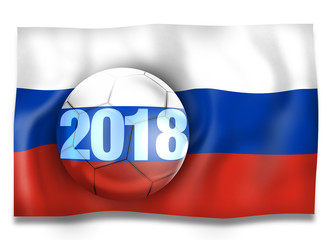 2018 Russia Football Ball
