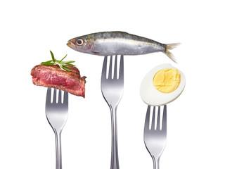 Proteinreiches Essen