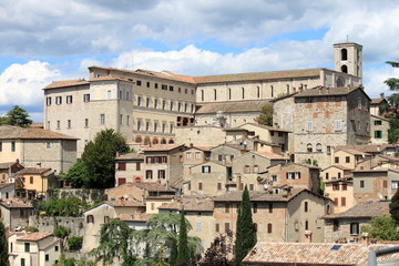 Medieval town of Todi, Italy