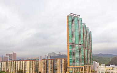 New apartments in Hong Kong.