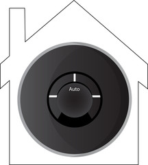Smart Thermostat House