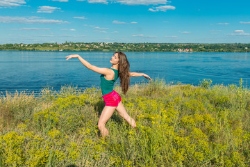 Ballerina. Dnepropetrovsk. Ukraine. 29.06.2014