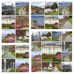 collection of images  from Bellagio,called pearl of Lake Como
