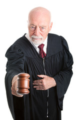 Serious Judge - Gavel