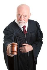 Serious Judge - Gavel