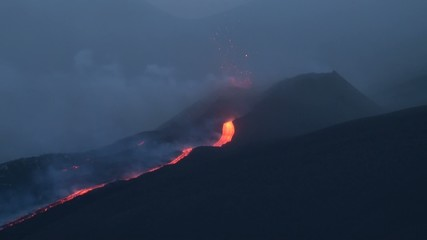 Eruption volcano (Etna 25/07/14)