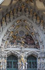 main portal of Bern cathedral